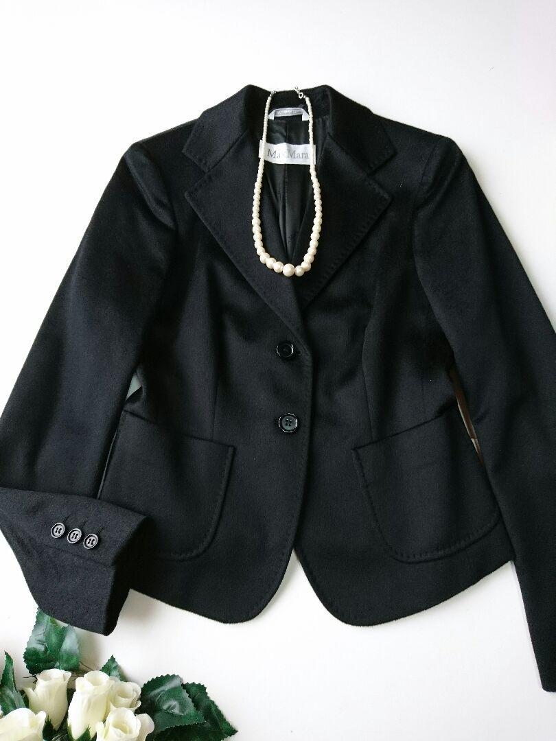 8a990c072807 メルカリ - Max Mara cammelloラクダ 高級スーツ価格29万 極美品 ...