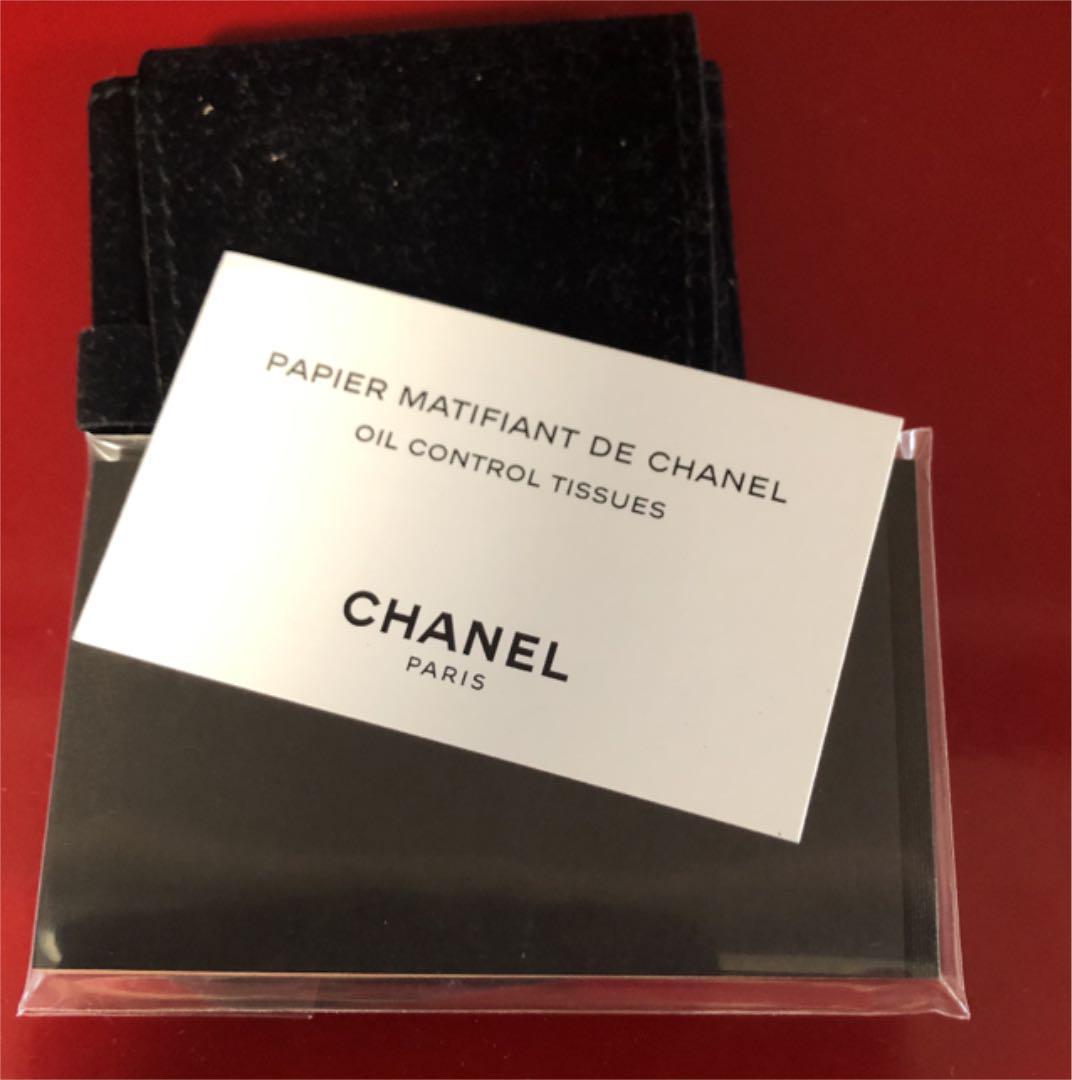 low priced 29881 d0414 【最終価格】CHANEL シャネル ミラー あぶらとり紙(¥580) - メルカリ スマホでかんたん フリマアプリ
