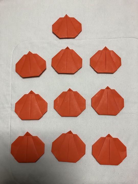ハロウィン かぼちゃ 折り紙