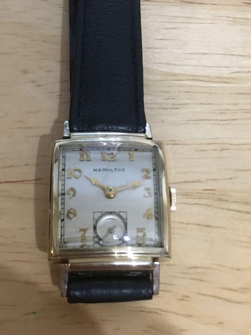 san francisco c067e 16b28 腕時計 hamilton ハミルトン 手巻 アンティーク 手巻き ビンテージ(¥15,000) - メルカリ スマホでかんたん フリマアプリ