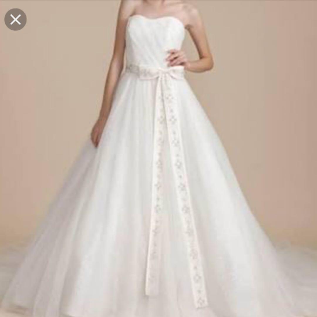 57f09755de584 メルカリ - みゆぴ アロヒナリノ ウェディングドレス (¥16