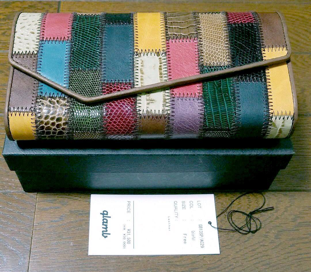 be4be2c0f291 メルカリ - glamb Gaudy long wallet 長財布 【グラム】 (¥27,000) 中古 ...