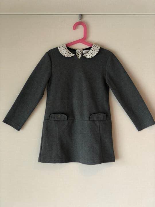 121e41a7518e6 メルカリ - フランス子供服 ワンピース 120-130 (¥1