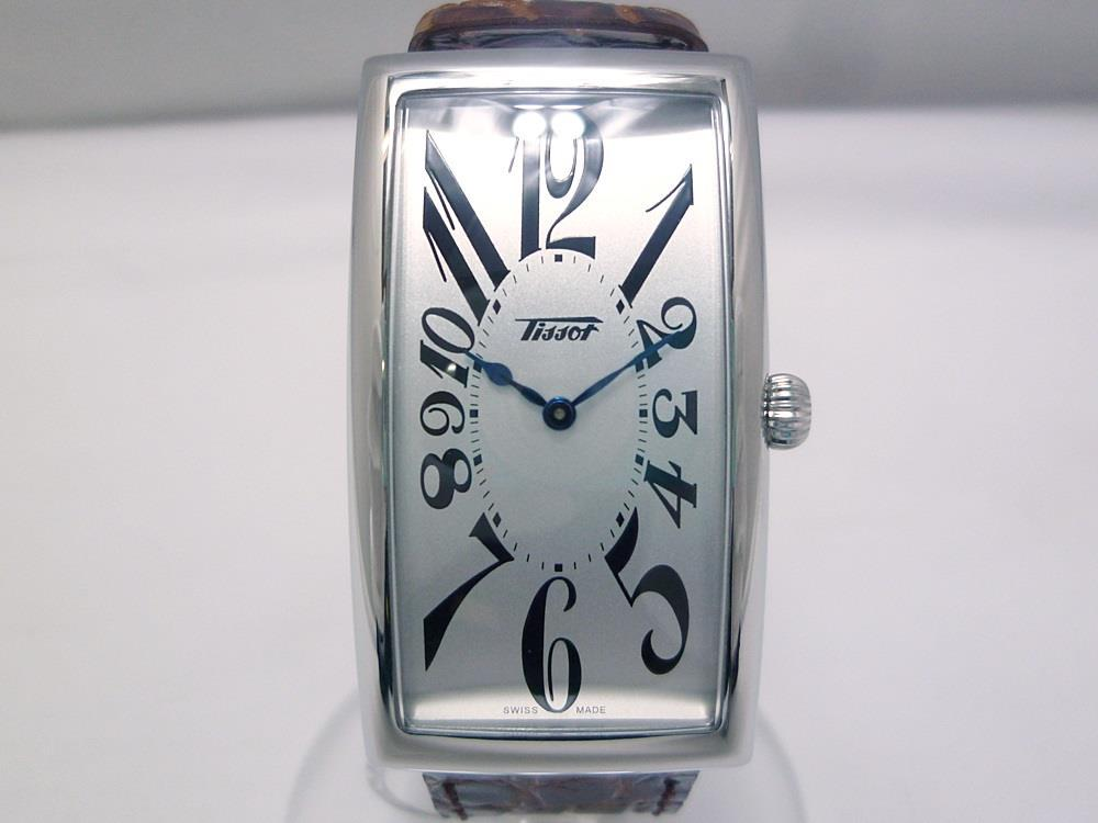 new product 9450c 659c4 美品 ティソ バナナウォッチ 腕時計 シルバー×ブラウン革ベルト(¥35,800) - メルカリ スマホでかんたん フリマアプリ