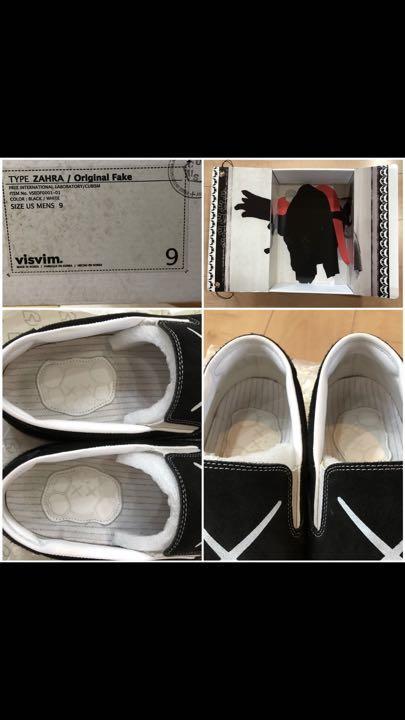 best sneakers 3a9ce 6773e VISVIM ZAHRA x KAWS ORIGINAL FAKE☆スニーカー