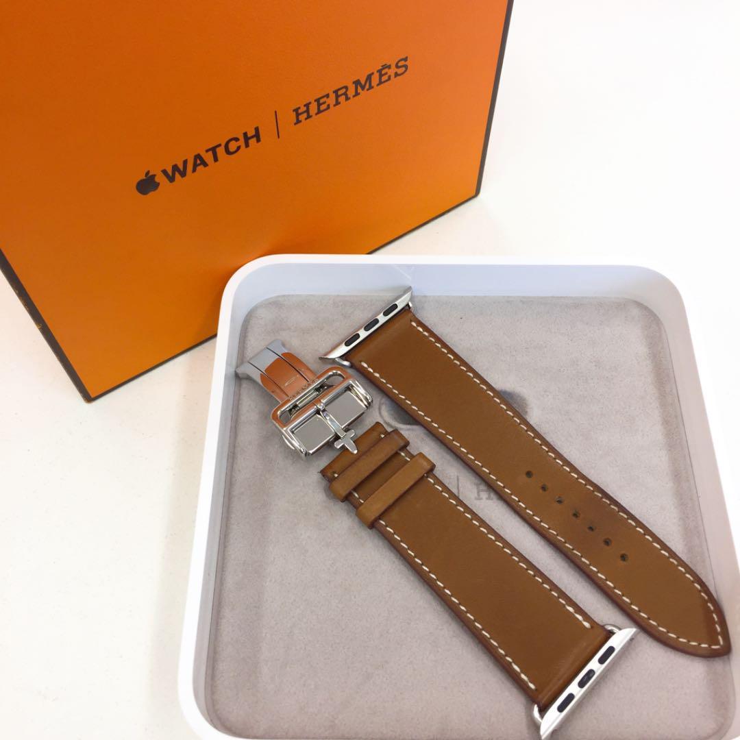 buy popular 4b4f4 987cc エルメス 正規品 ディプロイアントバックル Apple Watch 42mm用(¥45,000) - メルカリ スマホでかんたん フリマアプリ