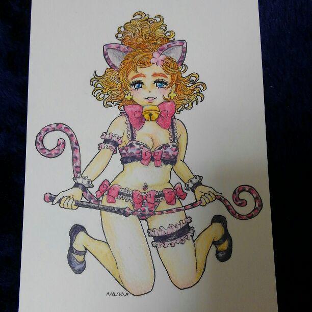 メルカリ 手描きイラスト春野はるか女王様プリンセスプリキュア