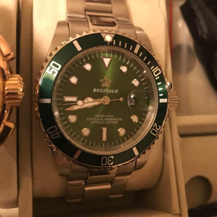 promo code 02d4e 551f8 【新品未使用】値下げ!!グリーン サブマリーナ オマージュ メタル 腕時計(¥4,980) - メルカリ スマホでかんたん フリマアプリ