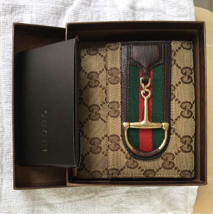 newest 50f18 6c8d6 グッチ財布 大丸心斎橋店 レティースショップから購入した正規品です。(¥9,000) - メルカリ スマホでかんたん フリマアプリ