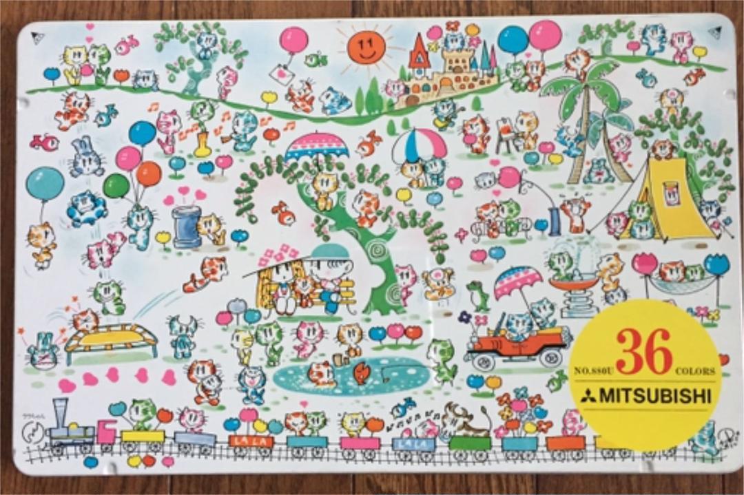 メルカリ 牧かずま 昭和 レトロ 色鉛筆 36色 猫 ネコイラスト ララちゃん コレクション 3 500 中古や未使用のフリマ