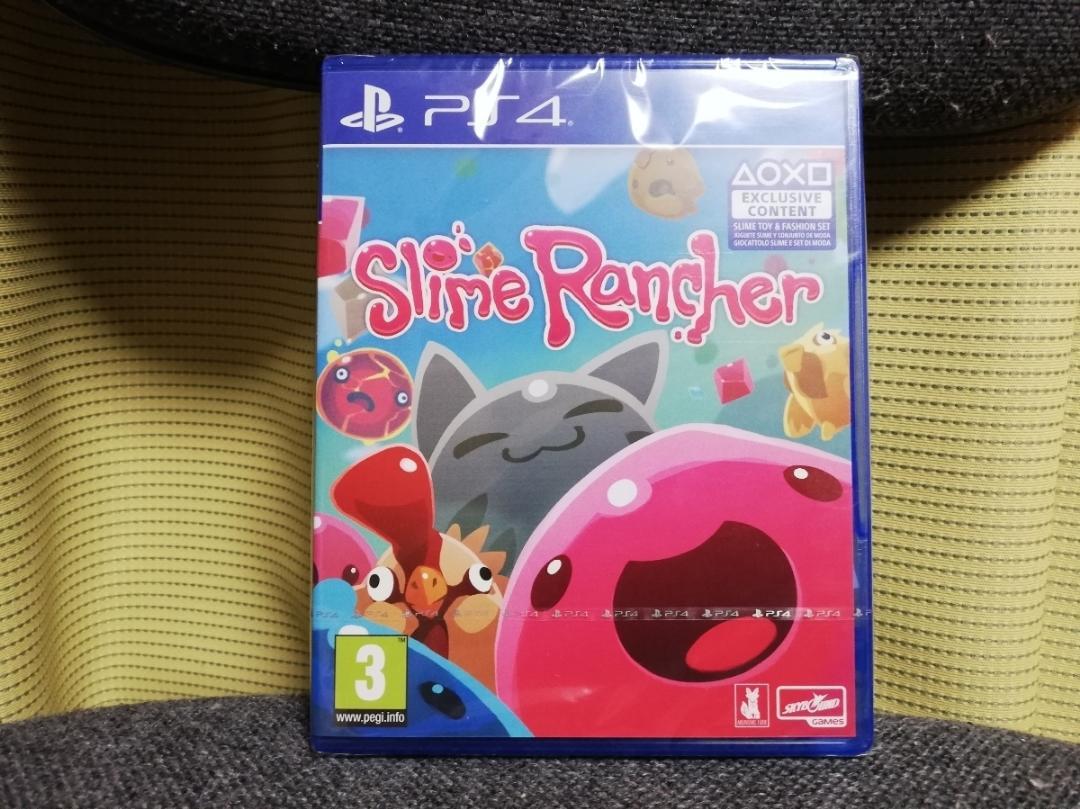 日本語対応 【新品】 PS4 輸入版 スライムランチャー Slime