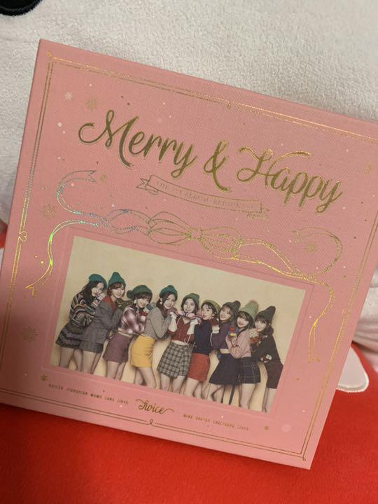 TWICE Merry Happy