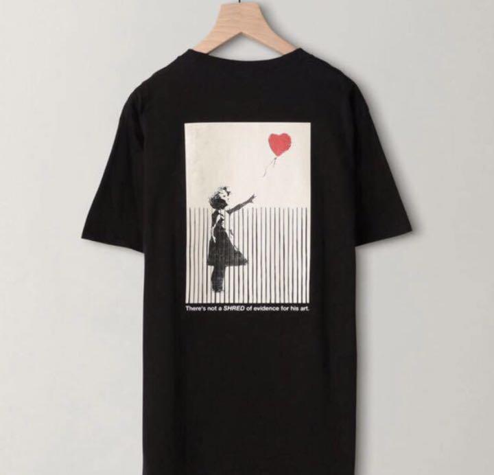 バンクシー シュレッダー Tシャツ 白 M ユナイテッドアローズ banksy(¥10,800) , メルカリ スマホでかんたん フリマアプリ