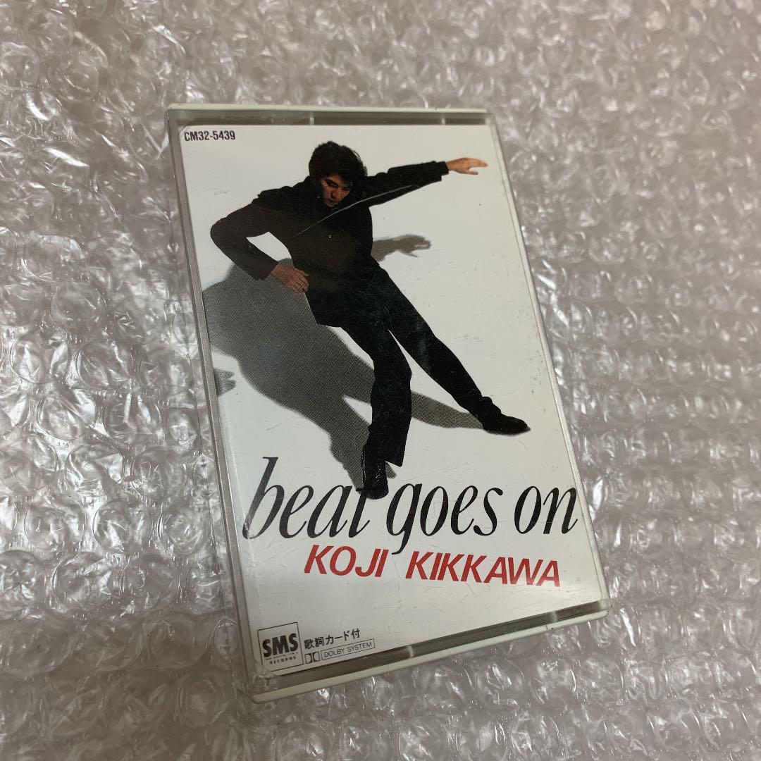 メルカリ - 吉川晃司 Beat Goes On ベスト・アルバム カセットテープ ...
