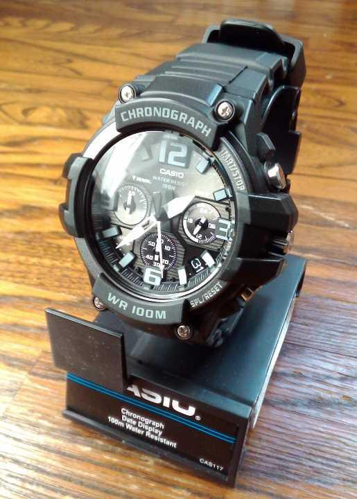 9f3b51f8a3 メルカリ - 新品 CASIO クロノグラフ MCW-100H-1A3V ブラック 【腕時計 ...