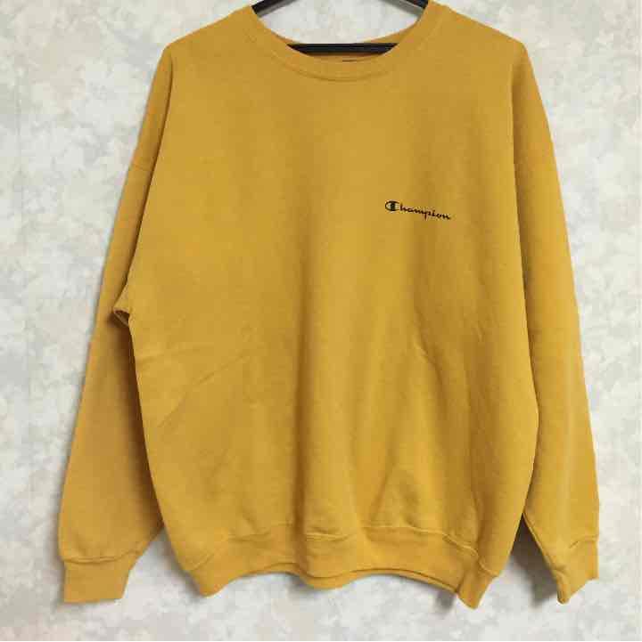1823685fc414e0 メルカリ - チャンピオン トレーナー L 黄色 【スウェット】 (¥2,600 ...