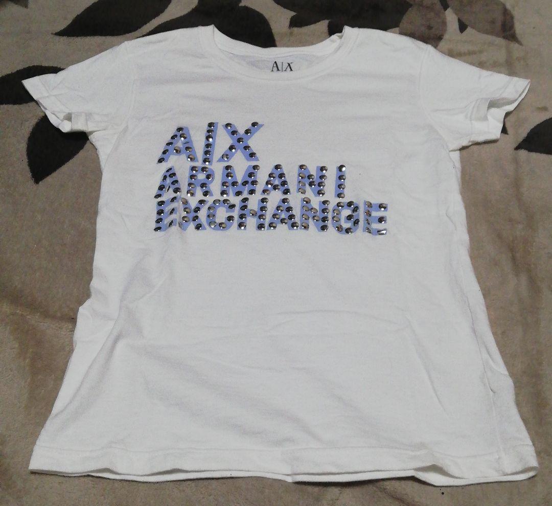 online retailer ee6bf ecfd5 Tシャツ アルマーニ レディース(¥ 980) - メルカリ スマホでかんたん フリマアプリ