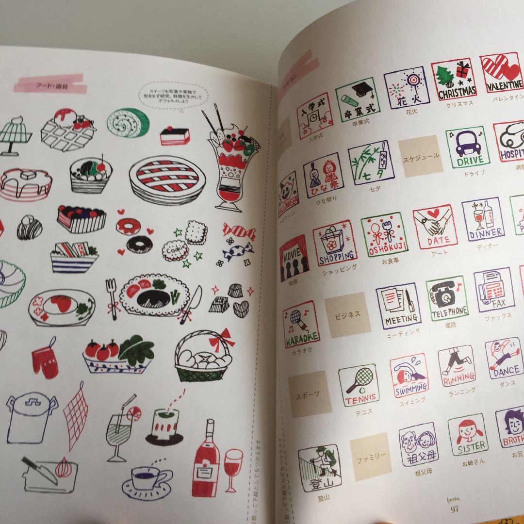 メルカリ 4色ボールペンでかわいい手帳イラスト 毎日を絵日記みたいに楽しくメモ 趣味 スポーツ 実用 450 中古や未使用のフリマ