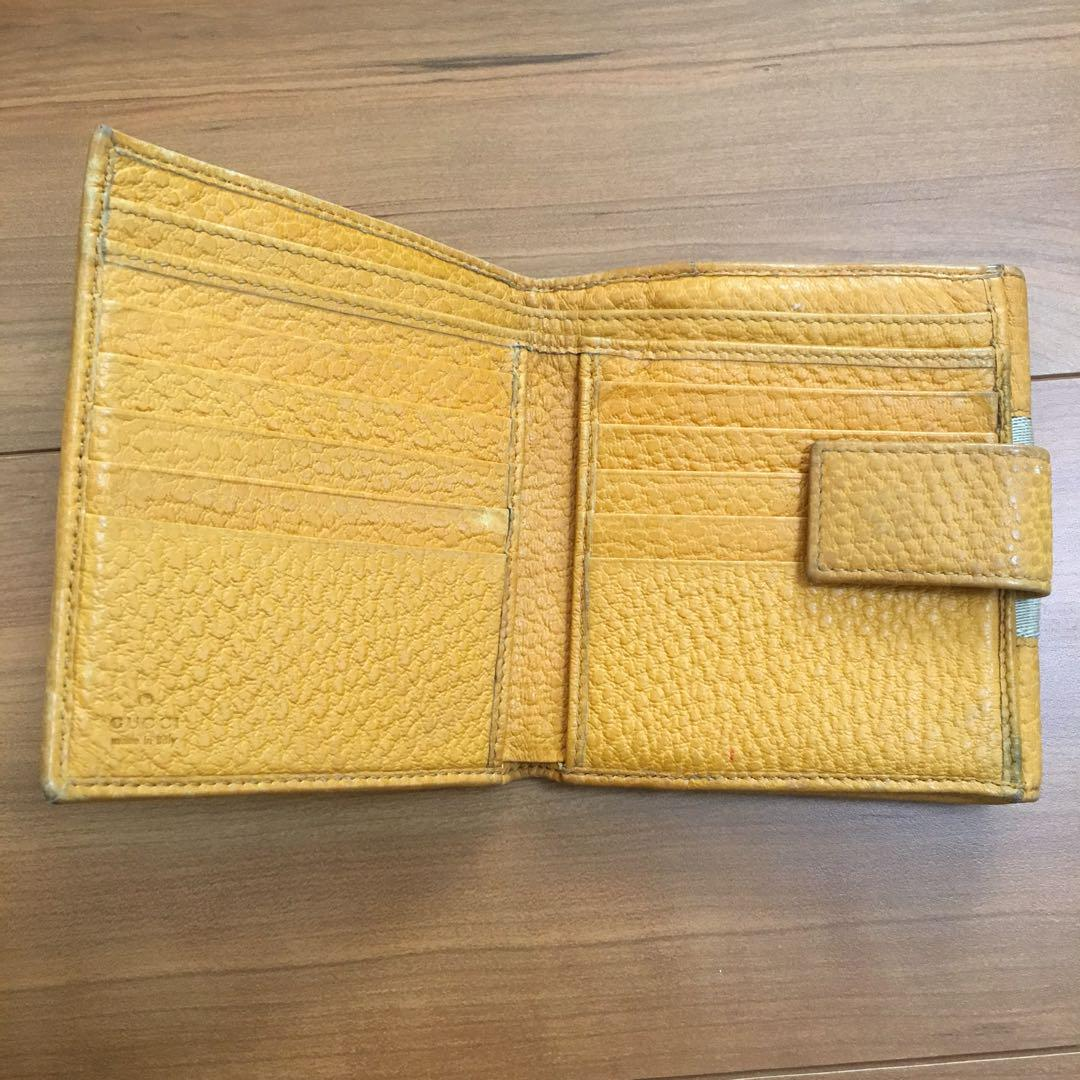 official photos eaf90 39061 【値下げ】グッチ 黄色 財布(¥2,700) - メルカリ スマホでかんたん フリマアプリ