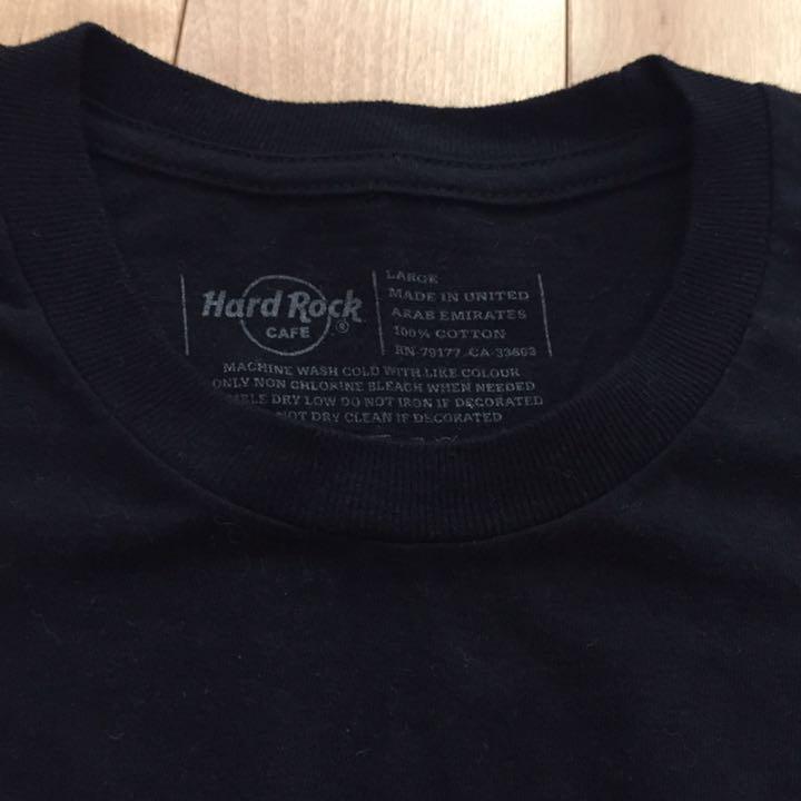 44fba303 メルカリ - Hard Rock CAFE FUKUOKA T-shirt 【Tシャツ/カットソー(半袖 ...