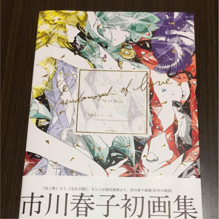 メルカリ 愛の仮晶 市川春子イラストレーションブック 青年漫画