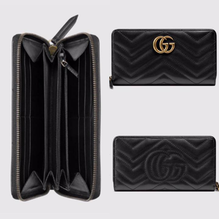 promo code 25b29 4d6cb GUCCI GGマーモント長財布(¥45,000) - メルカリ スマホでかんたん フリマアプリ