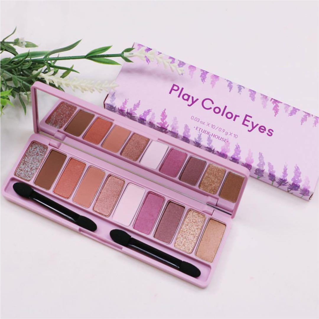 Phấn Mắt Etude House Play Color Eyes Lavender Land 10 Ô