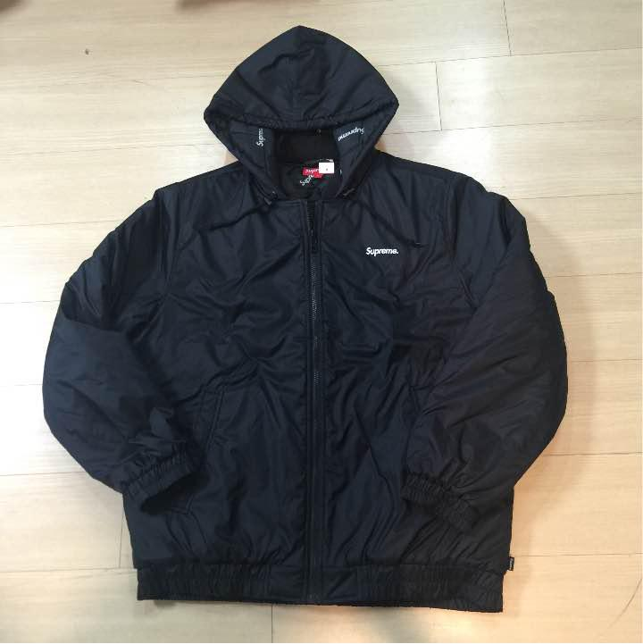 970e6acab020 メルカリ - supreme 2-tone hooded sideline jacket  ナイロン ...