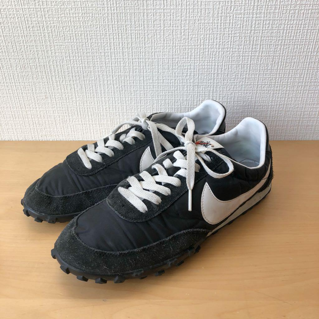 newest 16f78 cf2ca NIKE WAFFLE RACER VNTG ワッフルレーサー 黒×白 26cm