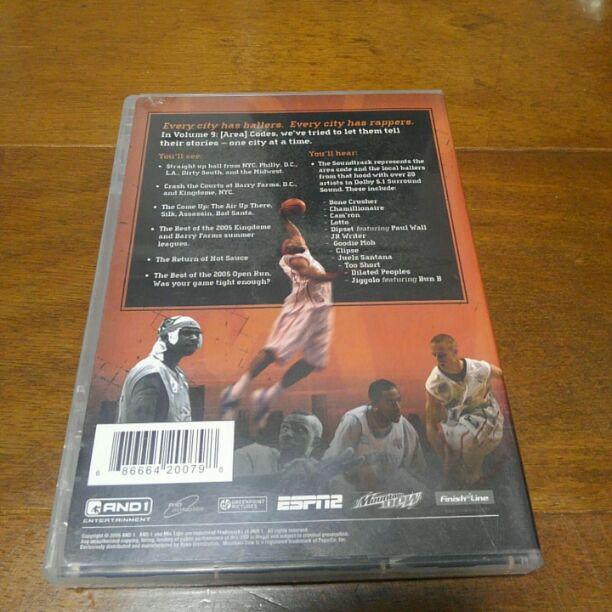 And1 MIXTAPE vol 9 輸入盤