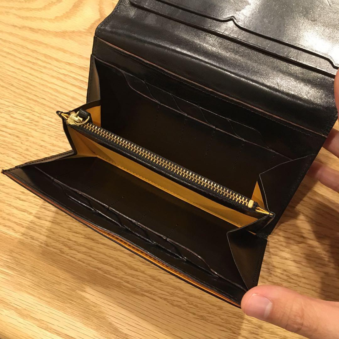 big sale 61b22 f79d3 ヒデジン様専用 ガンゾ GANZO 長財布 財布(¥6,000) - メルカリ スマホでかんたん フリマアプリ