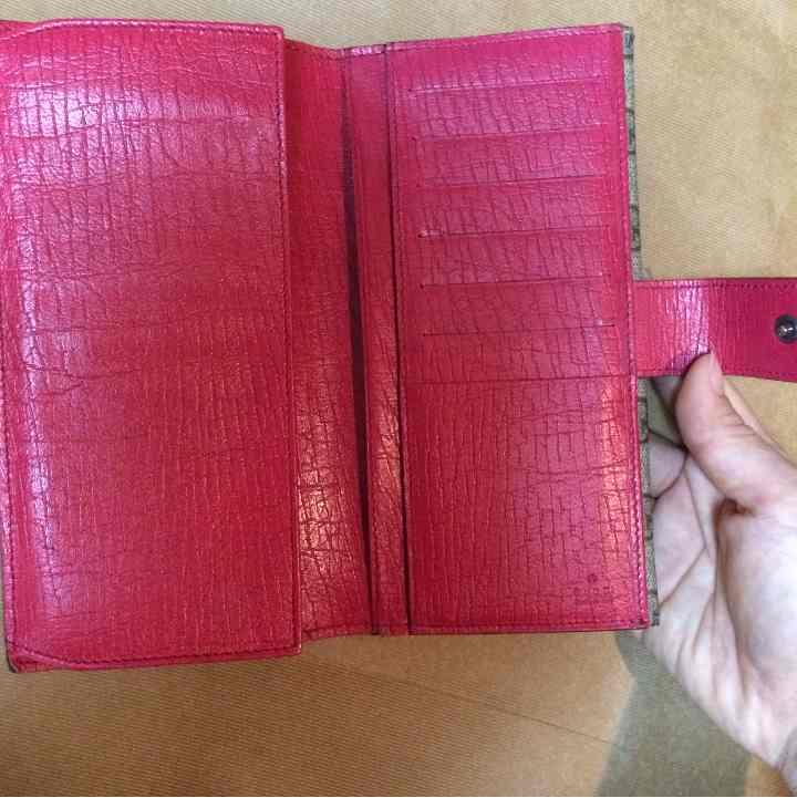 珍しいピンク♡GUCCI  グッチ 長財布