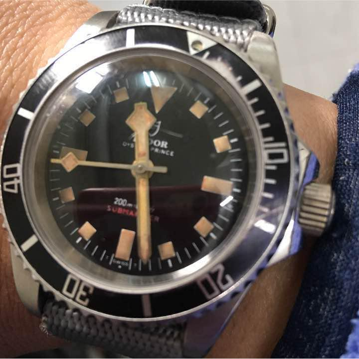 watch e5507 d10b0 激レア‼️チュードル アンティーク ダイバー(¥68,000) - メルカリ スマホでかんたん フリマアプリ