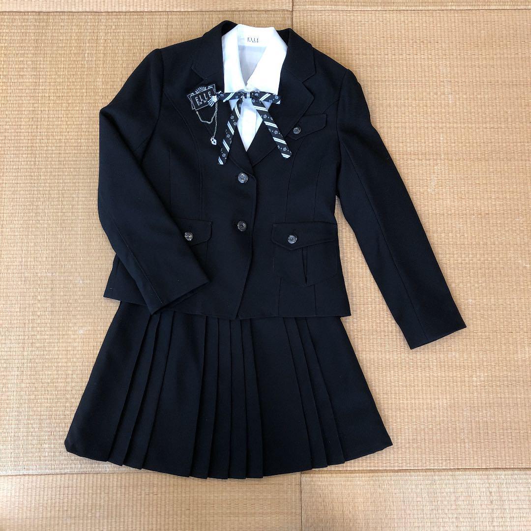 ffec75fd3153d メルカリ - ELLE 卒業式 女の子用 スーツ 150cm  フォーマル ドレス ...