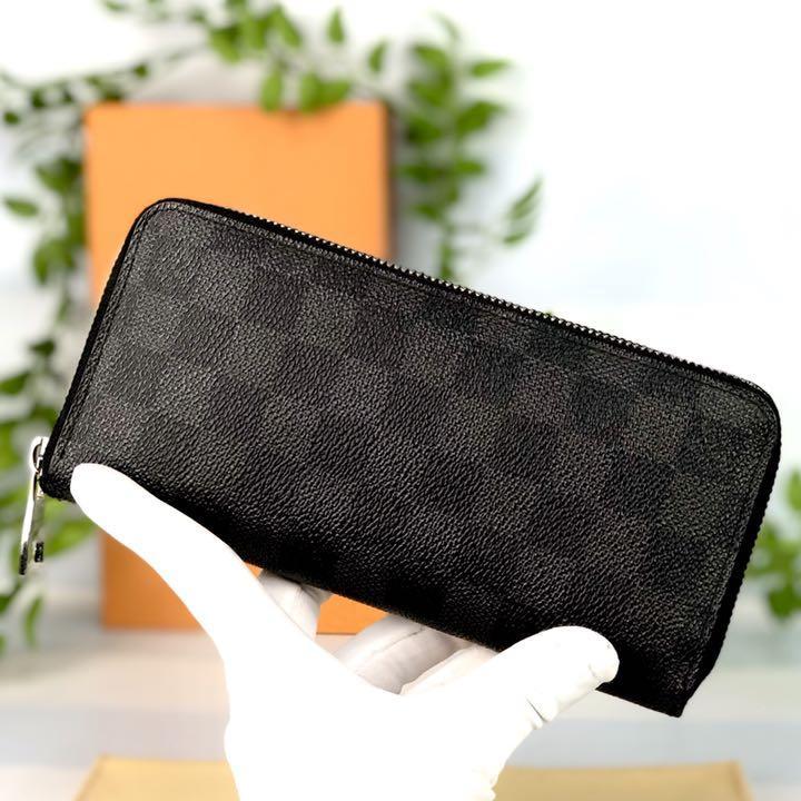 buy popular 6a6ff f40ab ✨美品✨ルイヴィトン ジッピーウォレット ダミエ グラフィット 長財布(¥48,000) - メルカリ スマホでかんたん フリマアプリ