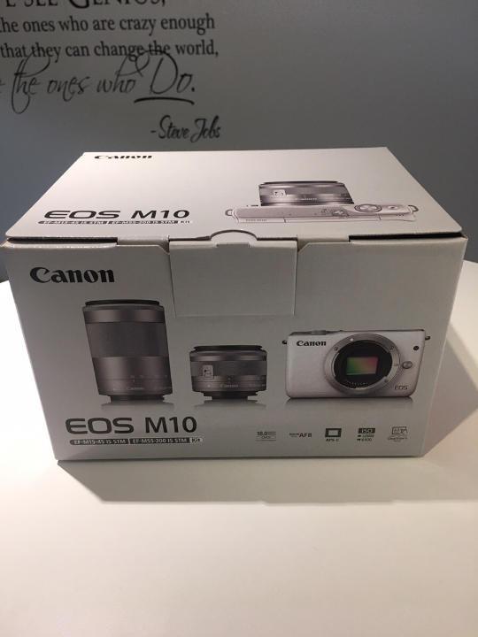 Canon ミラーレス一眼カメラ EOS M10 (グレー)