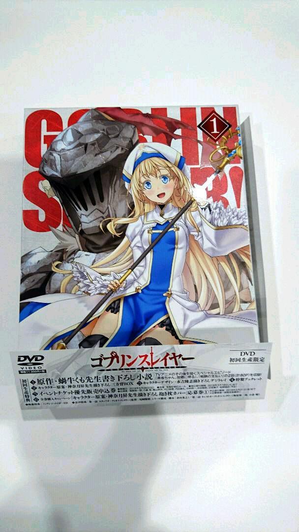 【初回生産限定】 1 ゴブリンスレイヤー 【送料無料】 【DVD】