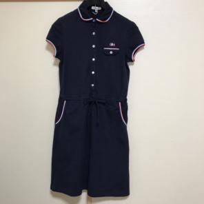 2b1396888a631 LACOSTE ラコステ♡ポロシャツ ワンピース ネイビー 36サイズ