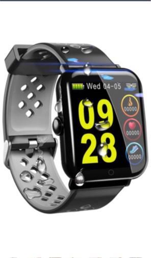 c3470a4811 スマートブレスレット IP68防水 活動量計 歩数計 GPS スマートウォッチ