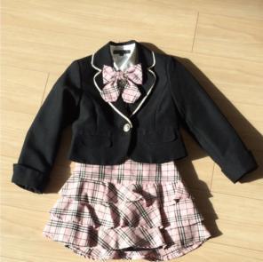 15adc1bb7b961 パーソンズ 女の子 フォーマル スーツ 入学式