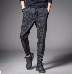 8ac0fcb84f5e4 ジョガーパンツ Mサイズ ストリート系 メンズ ブラック グレー 迷彩柄