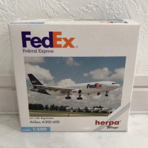 Airbus A300 FedEx aircraft round sticker
