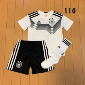 01494d9d18c31 新品未使用 アディダス 110㎝ サッカージュニア ドイツ代表ユニフォーム TK
