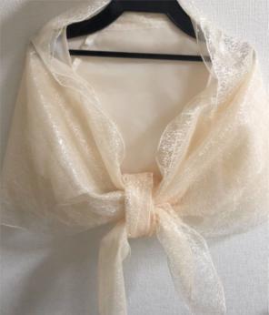 433c673f88e61 レッセパッセ ショール ボレロ 結婚式 羽織り