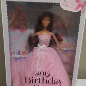 2015 Birthday Wishes Latina Doll