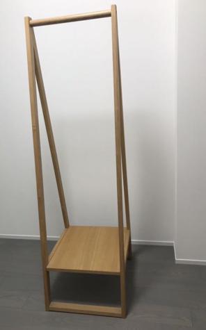 無印良品 タモ材コートハンガー ハンガーラック