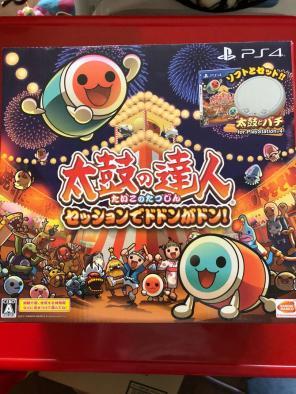 [タタコン同梱版] 太鼓の達人 【中古】 PS4ソフト セッションでドドンがドン!
