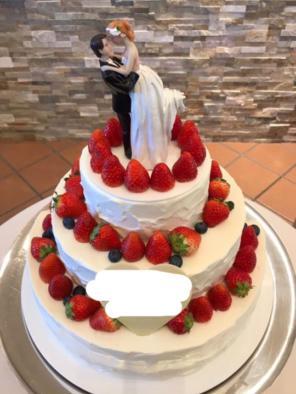 cyndie ケーキトッパー ウエディング ロマンチック ケーキ飾る