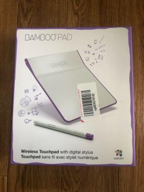With Wacom Pen Touch Pad Wireless Bamboo Pad Purple Cth300u Japan High Quality Keyboards, Mice & Pointers