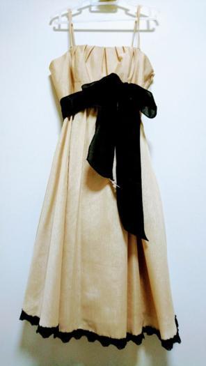 798941bfb50c1 ru ラグジュアリー ドレス シャンパンゴールド 編み上げ 上品 パーティー